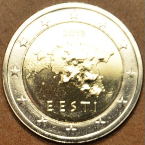 2 Euro Estónsko 2018 (UNC)