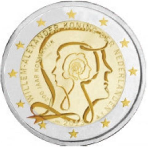2 Euro Netherlands 2013 - 200 Years of Kingdom (UNC)