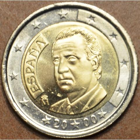 2 Euro Španielsko 2000 (UNC)