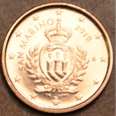 1 cent San Marino 2018 - New design (UNC)