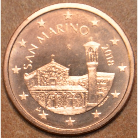 5 cent San Marino 2018 - New design (UNC)