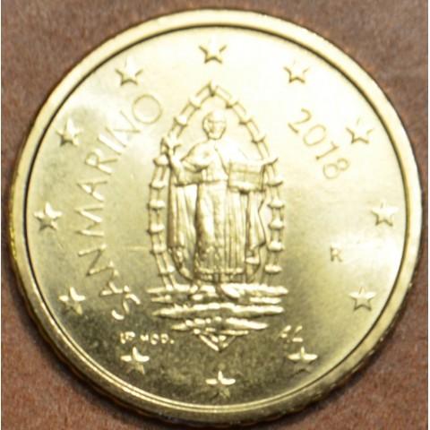 50 cent San Marino 2018 - New design (UNC)