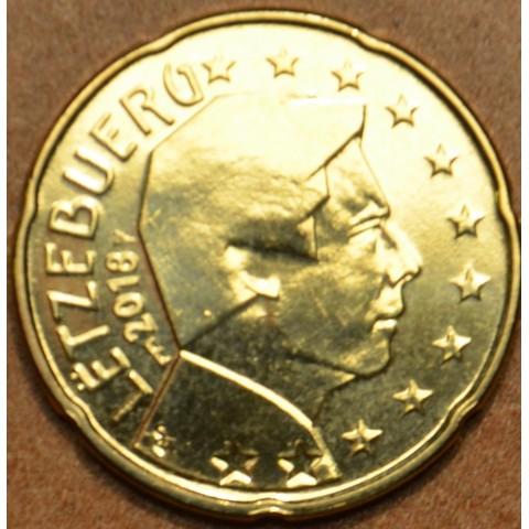 20 cent Luxembursko 2018 nová značka (UNC)