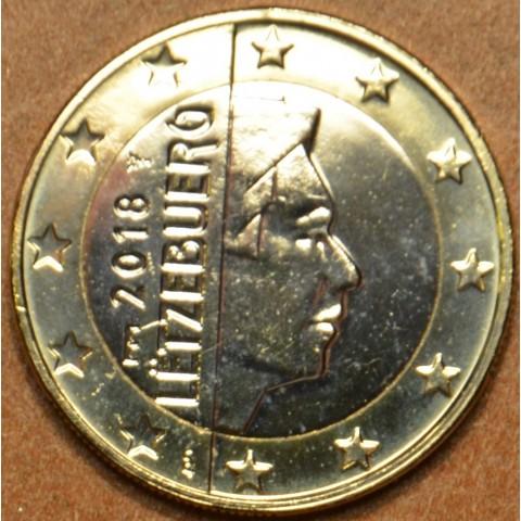 1 Euro Luxembourg 2018 new mintmark (UNC)