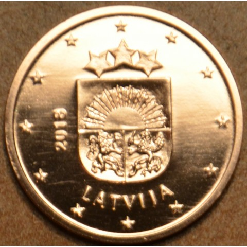 1 cent Lotyšsko 2018 (UNC)