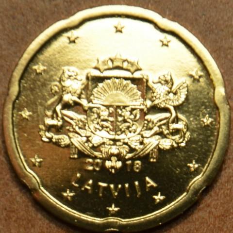 20 cent Lotyšsko 2018 (UNC)