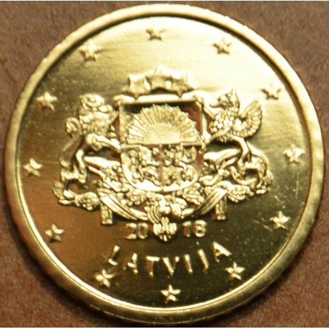 50 cent Latvia 2018 (UNC)
