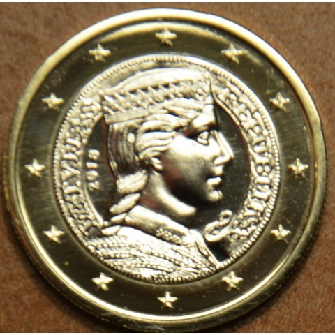 1 Euro Lotyšsko 2018 (UNC)