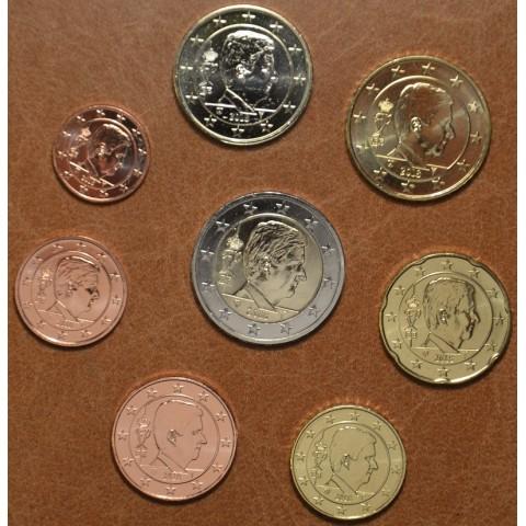 Set of 8 coins Belgium 2018 (UNC)