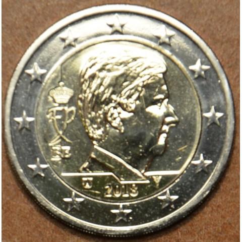 2 Euro Belgicko 2018 - Kráľ Filip (UNC)
