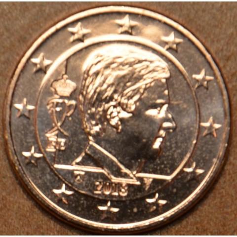1 cent Belgicko 2018 - Kráľ Filip (UNC)