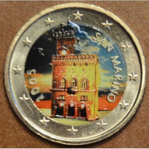 2 Euro San Marino 2005 - Government House (colored UNC)