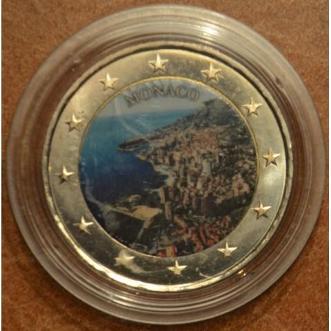 2 Euro Monaco heritage series  (colored UNC)