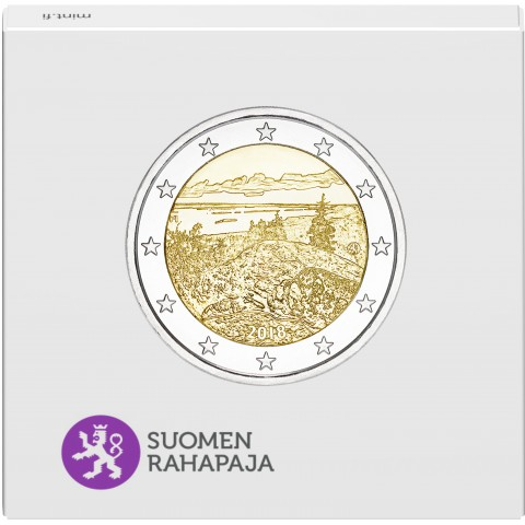 2 Euro Finland 2018 - National park Koli (Proof)
