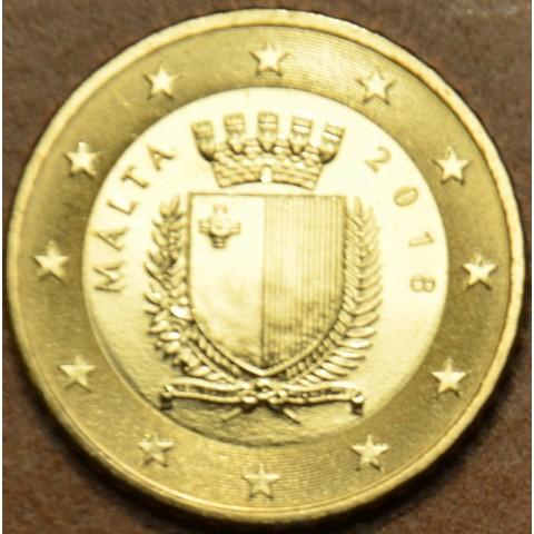 50 cent Malta 2018 (UNC)