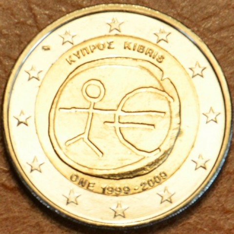2 Euro Cyprus 2009 - 10th Anniversary of the Introduction of the Euro (UNC)