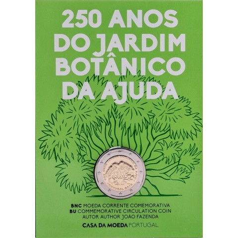 Presale 2 Euro Portugal 2018 - 250 years of Ajuda (BU)