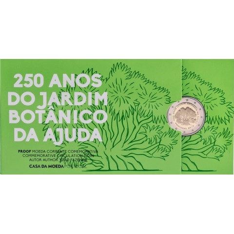 Presale 2 Euro Portugal 2018 - 250 years of Ajuda (Proof)