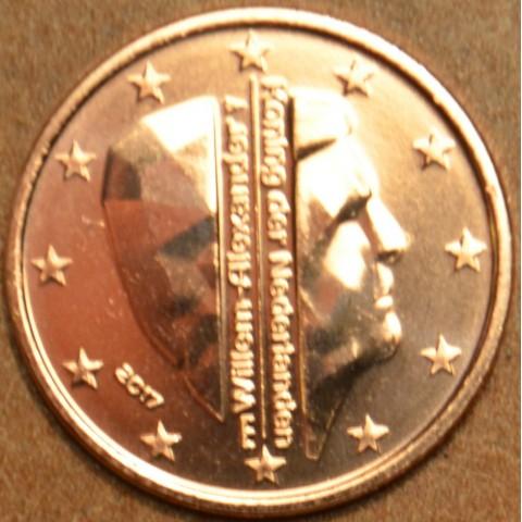 1 cent Netherlands 2017 with mintmark bridge (UNC)
