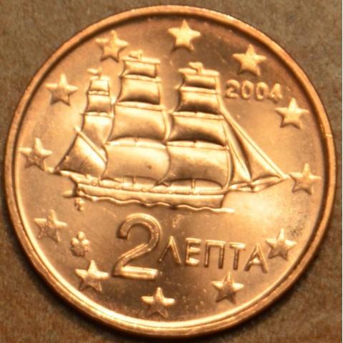 2 cent Greece 2004 (UNC)