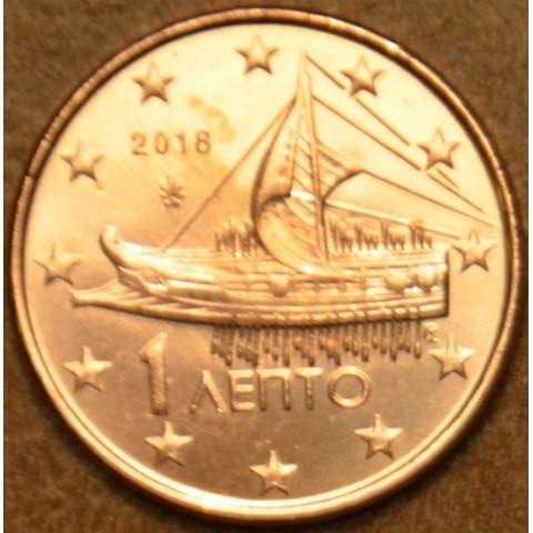 1 cent Grécko 2018 (UNC)
