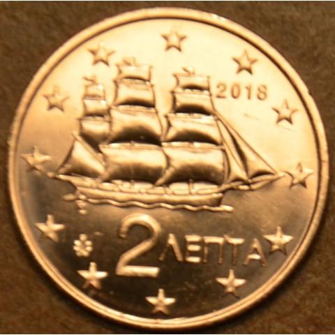 2 cent Grécko 2018 (UNC)