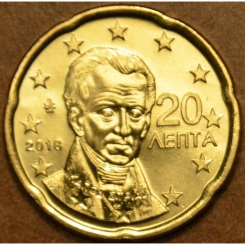 20 cent Grécko 2018 (UNC)