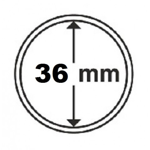 Leuchtturm capsula 36 mm