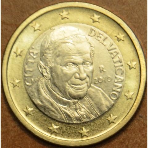 1 Euro Vatikán 2010 (BU)