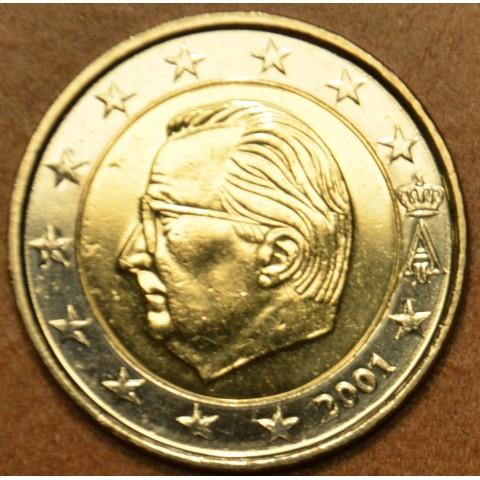 2 Euro Belgicko 2001 - Albert II.  (UNC)