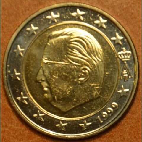 2 Euro Belgicko 1999 - Albert II.  (UNC)