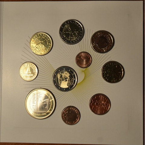 Set of 10 coins Slovenia 2014 (BU)