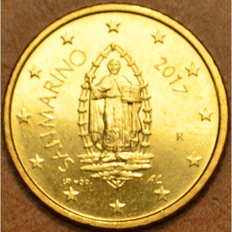 50 cent San Marino 2017 - New design (UNC)