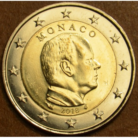 2 Euro Monaco 2018 (UNC)