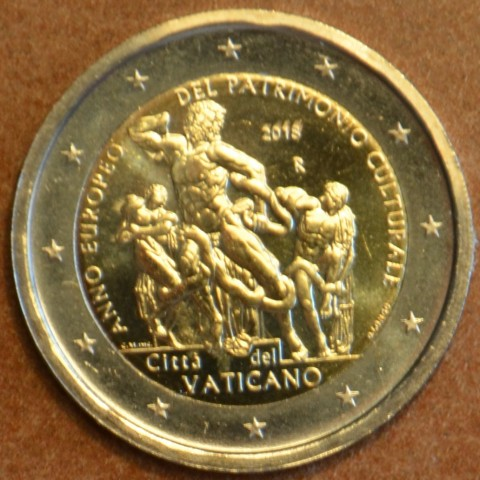 2 Euro Vatican 2018 - European Year of Cultural Heritage (BU)