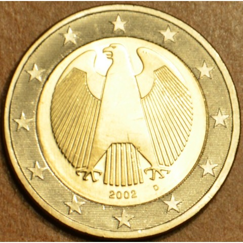 "2 Euro Germany ""D"" 2002 (UNC)"