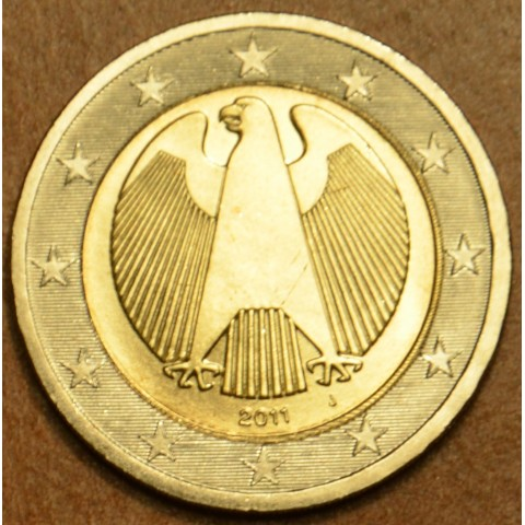 "2 Euro Germany ""J"" 2011 (UNC)"