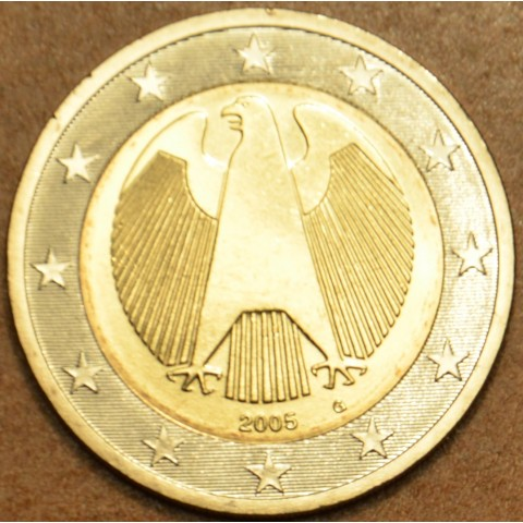 "2 Euro Germany ""G"" 2005 (UNC)"