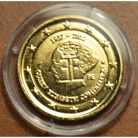 2 Euro Belgium 2012 - The 75th anniversary of the Queen Elisabeth Competition (gilded UNC)
