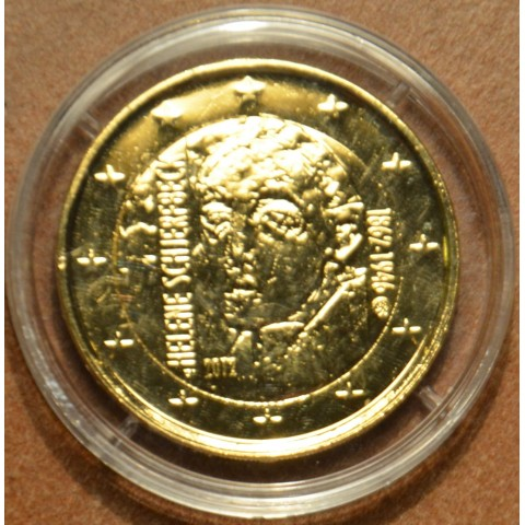 2 Euro Finland 2012 - 150th Anniversary of the Birth of Helene Schjerfbeck   (gilded UNC)