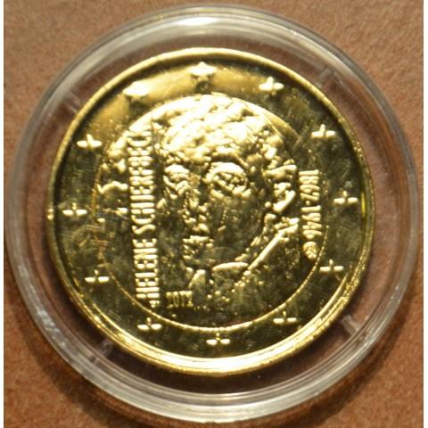 2 Euro Fínsko 2012 - 150. výročie narodenia Helene Schjerfbecka  (pozlatená UNC)