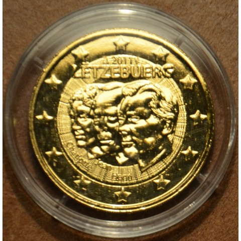 2 Euro Luxembourg 2011 - 50th anniversary of the appointment by the Grand-Duchess Charlotte of her son Jean (gilded UNC)
