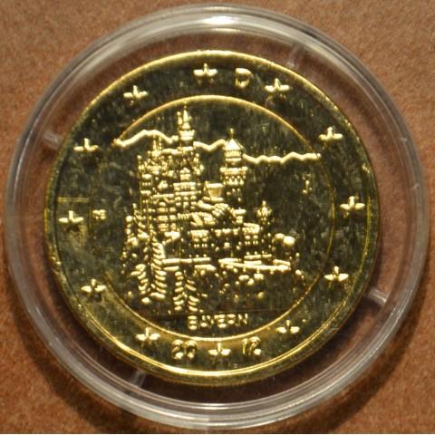 2 Euro Nemecko 2012 - Bavorsko: Neuschwanstein (pozlatená UNC)