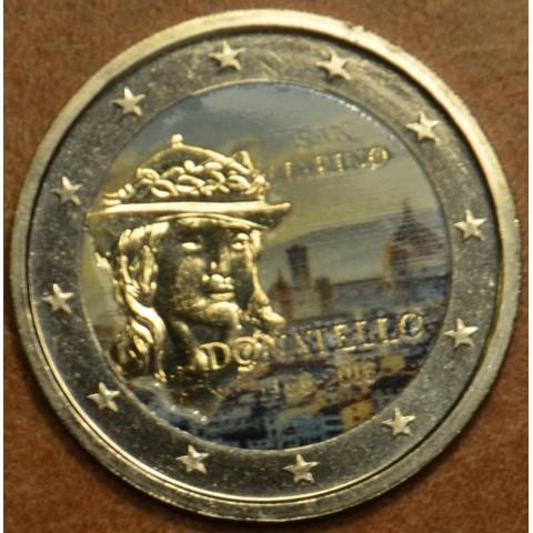 2 Euro San Marino 2016 - 550th anniversary of the death of Donatello II. (colored UNC)