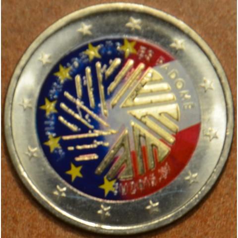 2 Euro Latvia 2014 - Latvian presidency of the EU IV. (colored UNC)
