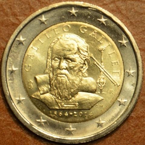2 Euro Italy 2014 - 450th anniversary of Galileo Galilei  (UNC)