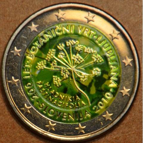 2 Euro Slovinsko 2010 - 200 rokov botanickej záhrady v Ljubljane III. (farebná UNC)