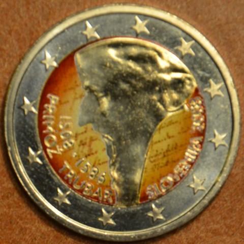 2 Euro Slovinsko 2008 - 500. výročie narodenia Primoža Trubara II. (farebná UNC)