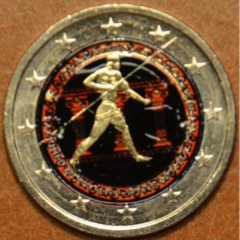 2 Euro Grécko 2010 - 2500. výročie bitky pri Maratóne IV. (farebná UNC)