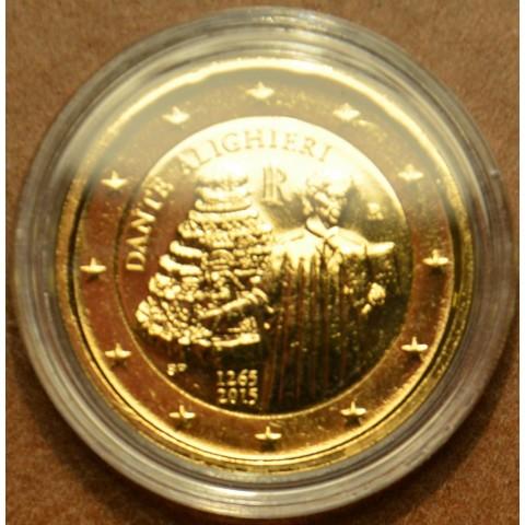 2 Euro Italy 2015 - Dante Alighieri (gilded UNC)